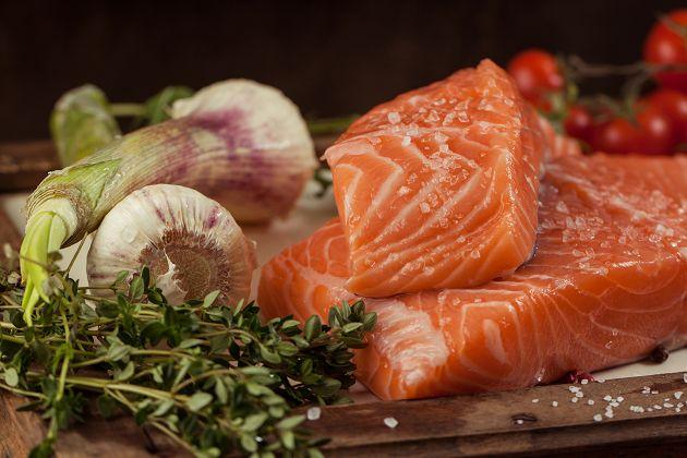 鮮凍鮭魚菲力 1