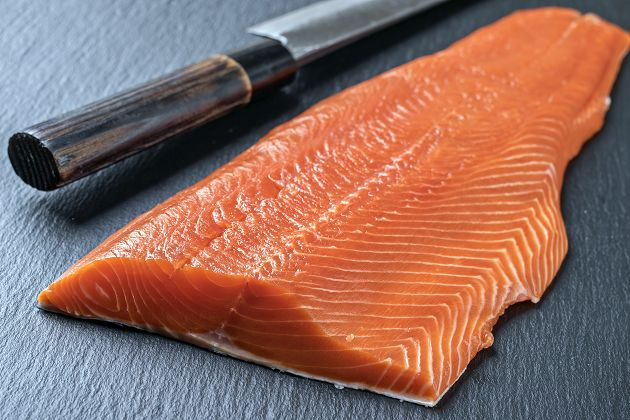 鮮凍鮭魚菲力 3